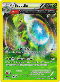 Sceptile 9/160 Primal Clash Pokemon Card