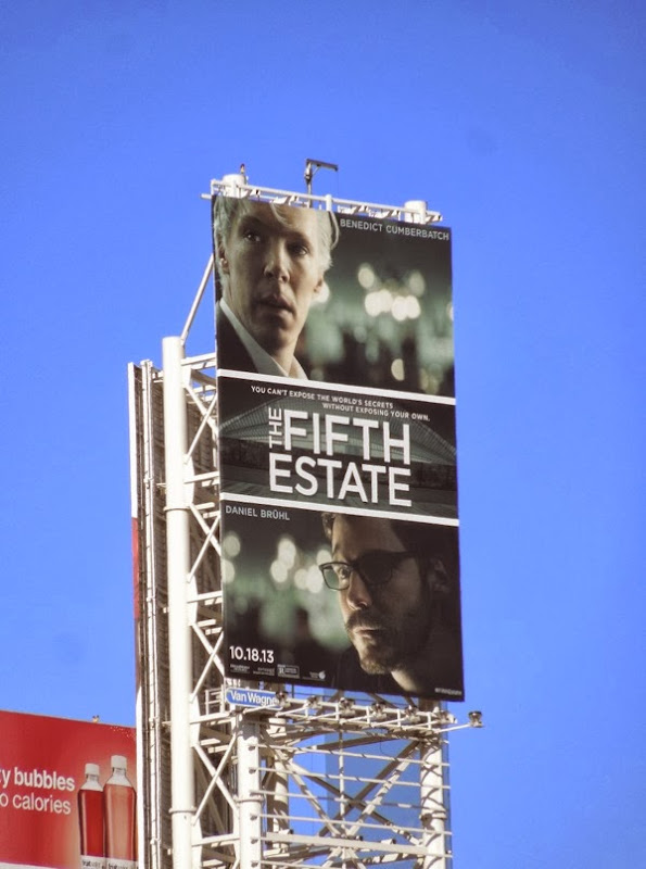 Fifth Estate movie billboard