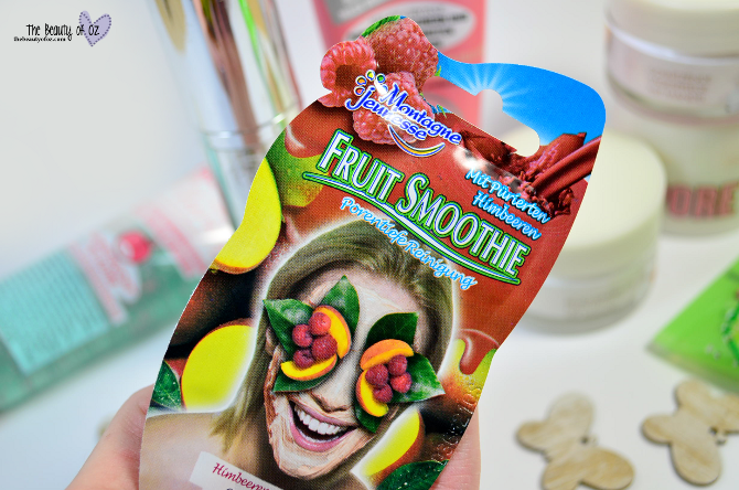 Review Montagne Jeunesse Fruit Smoothie Maske