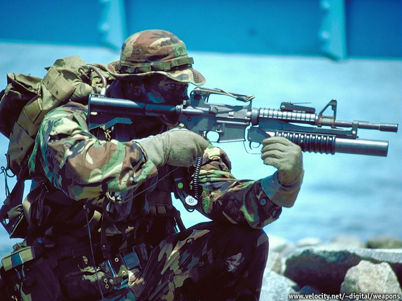 Viewfinder US Navy Seals