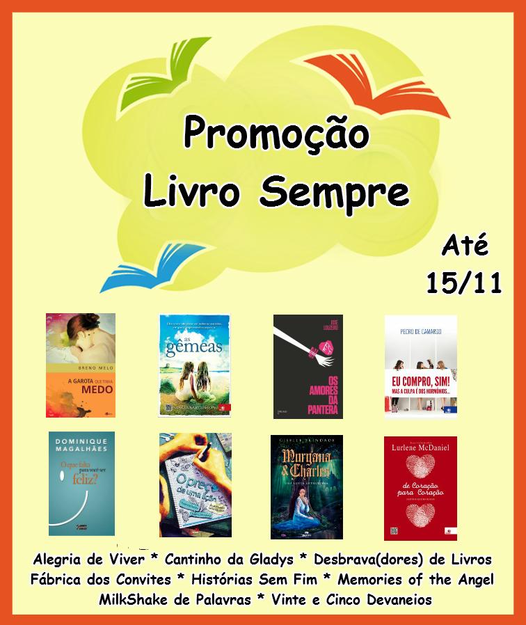 SORTEIO #50 - PROMOÇÃO LIVRO SEMPRE