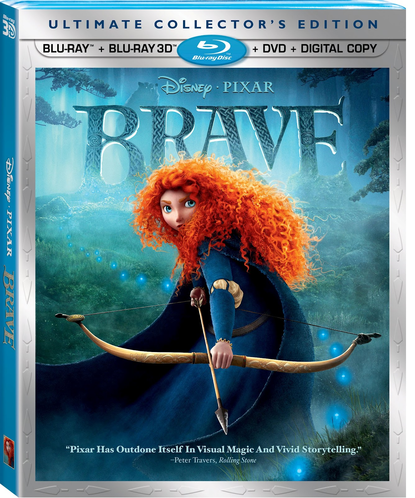 pixar corner: pixar home video update: 'brave' & pixar shorts - volume 2