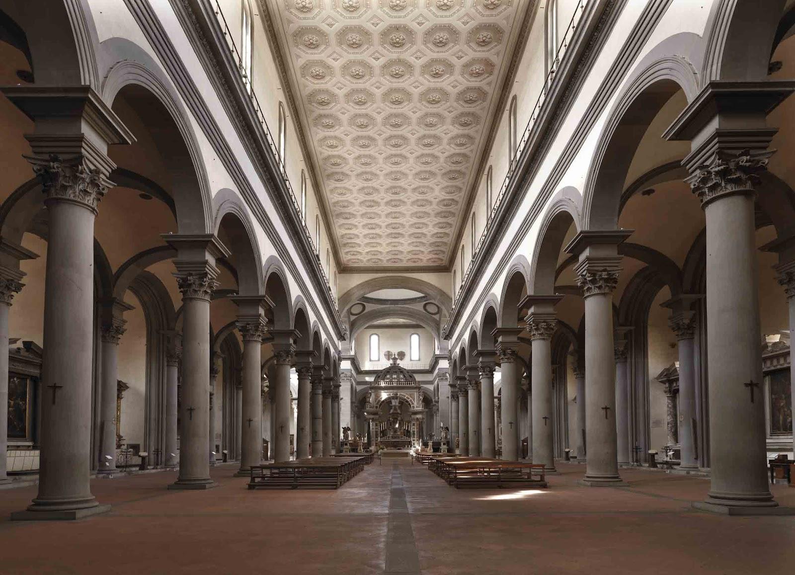 Stendhal syndrom so harmonisch wie der kosmos selbst for Interior iglesia san lorenzo brunelleschi