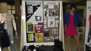 Semana de Moda - Exposição dos Alunos - Minimalismo e Yuppie