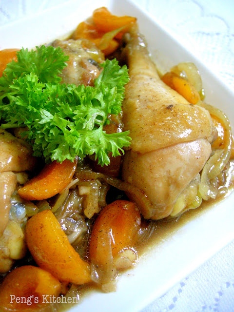 Peng's Kitchen: Apricot Chicken