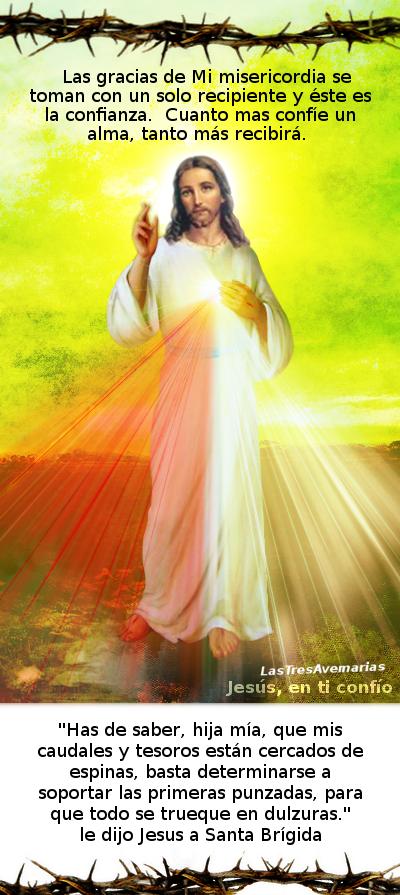 jesus misericordioso con mensaje