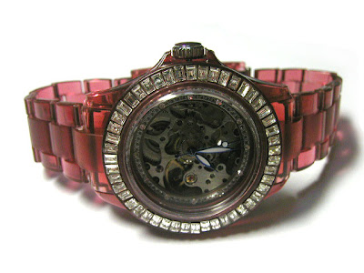Crystal Mechanical Watch