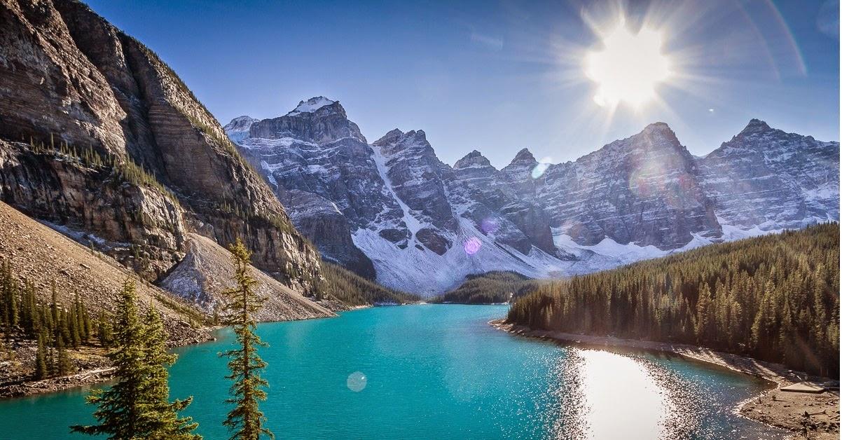 صور من منتزه بانف الوطني كندا