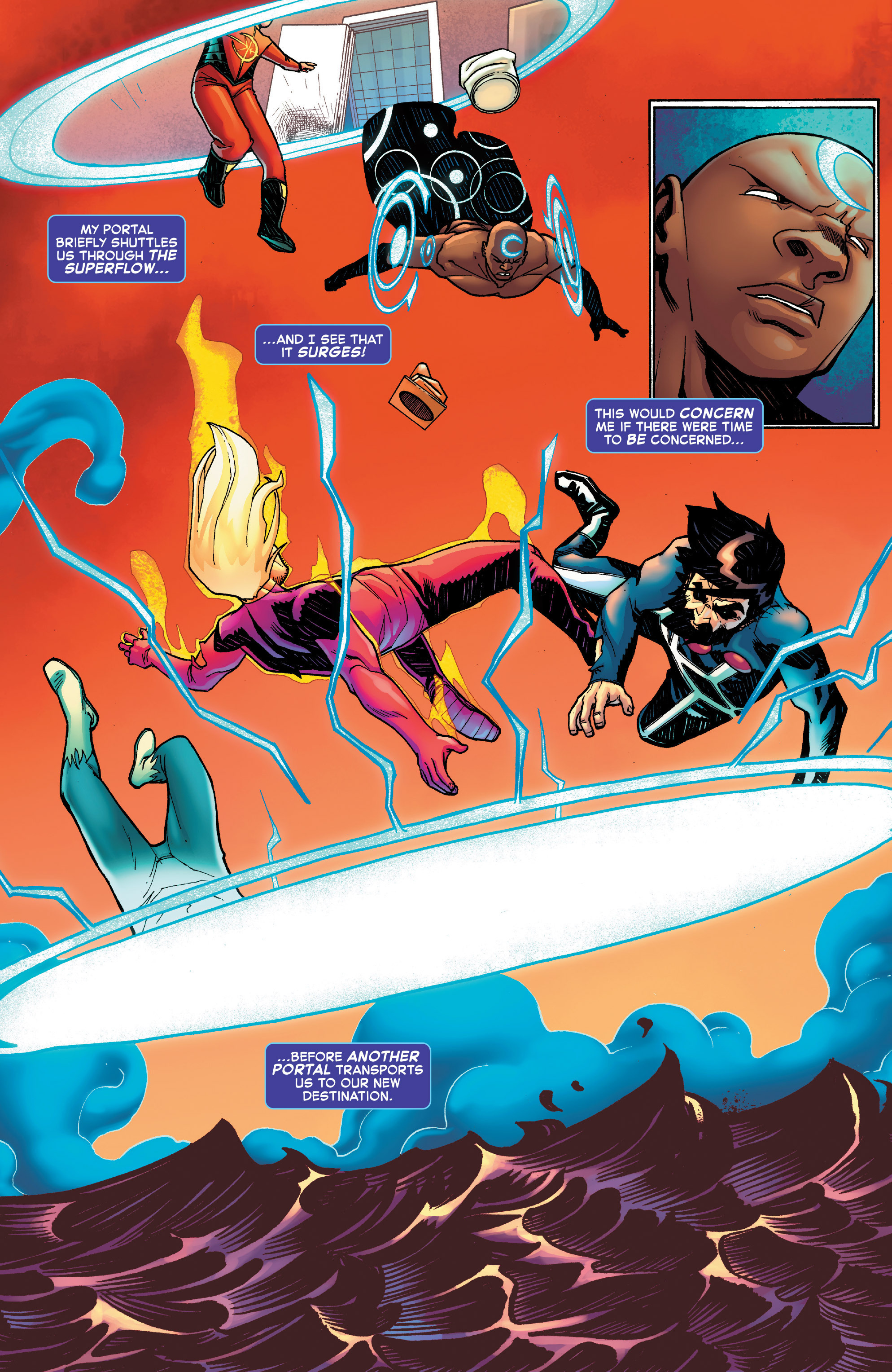 Read online Starbrand & Nightmask comic -  Issue #2 - 9