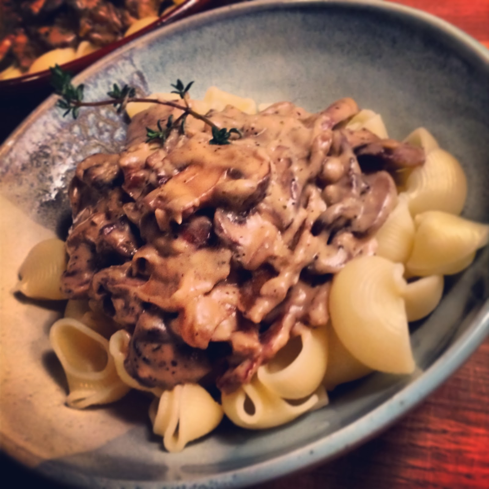 ... with Some Awesome Seitan-Mushroom Stroganoff for Your Dining Pleasure
