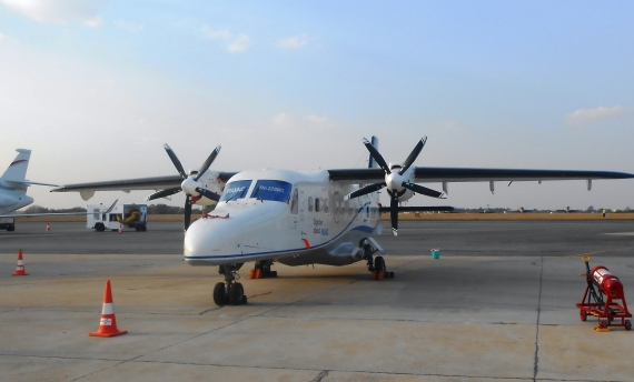 Dornier Do-228 NG at Aero India 2015