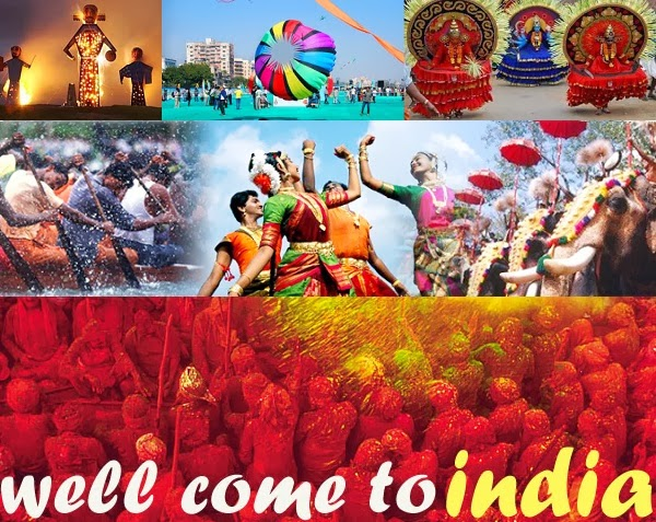 Experience different all through the year in India