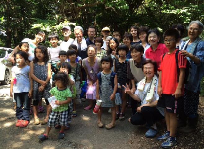 福島の子ども達の伊豆保養キャンプ