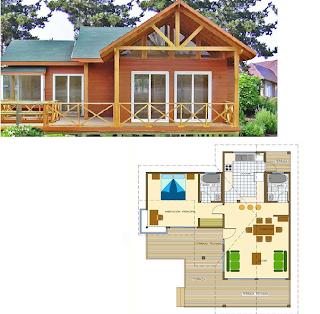 Dise os de casas planos gratis dise o simple de casa for Disenos de casas pequenas para construir