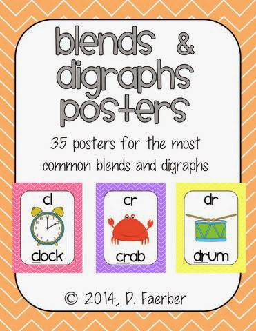 http://www.teacherspayteachers.com/Product/Blends-and-Digraphs-Posters-in-Pastel-Chevron-1087351