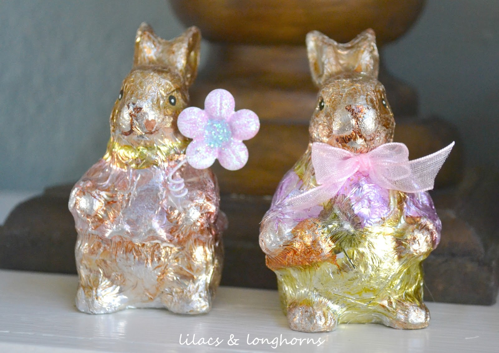 Foil Easter Decorations Foil Easter Bunnies.jpg