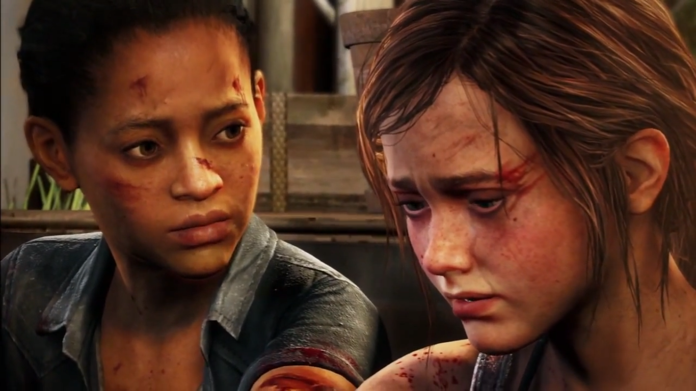 Riley and Ellie The Last of Us Left Behind wallpaper  - riley  ellie left behind wallpapers