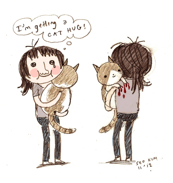 seo kim cat person