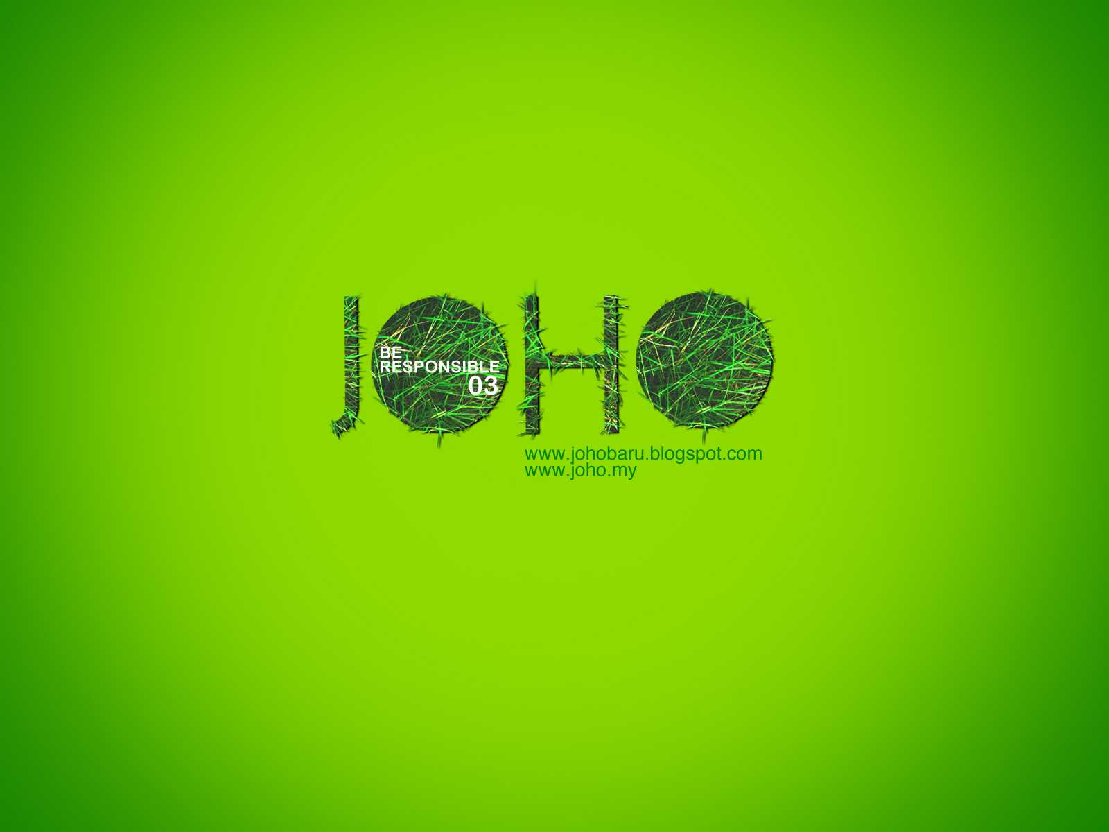 JOHO Wallpaper December 2011 Be Responsible