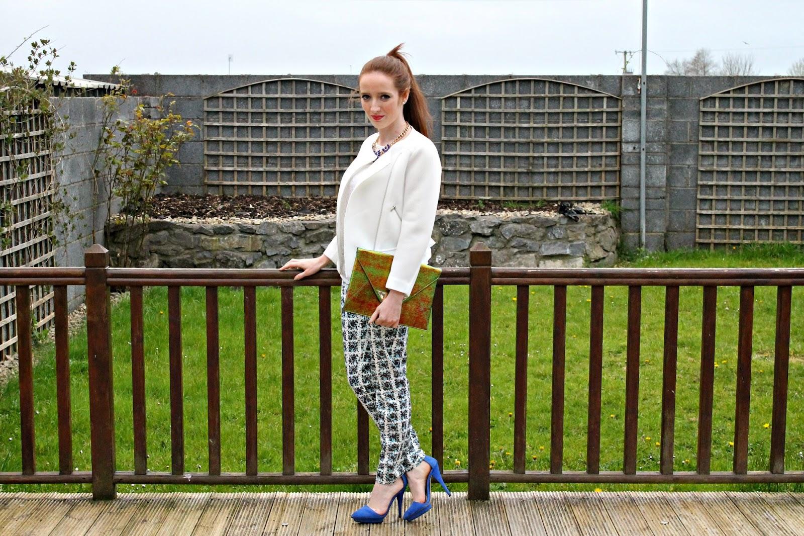 Bec Boop printed pants outfit
