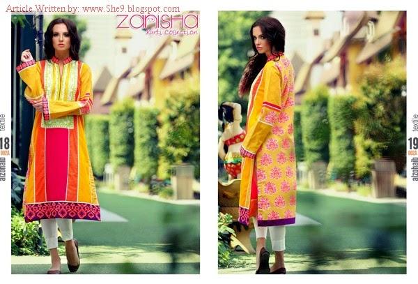 Zanisha Embroidered Linen Kurti