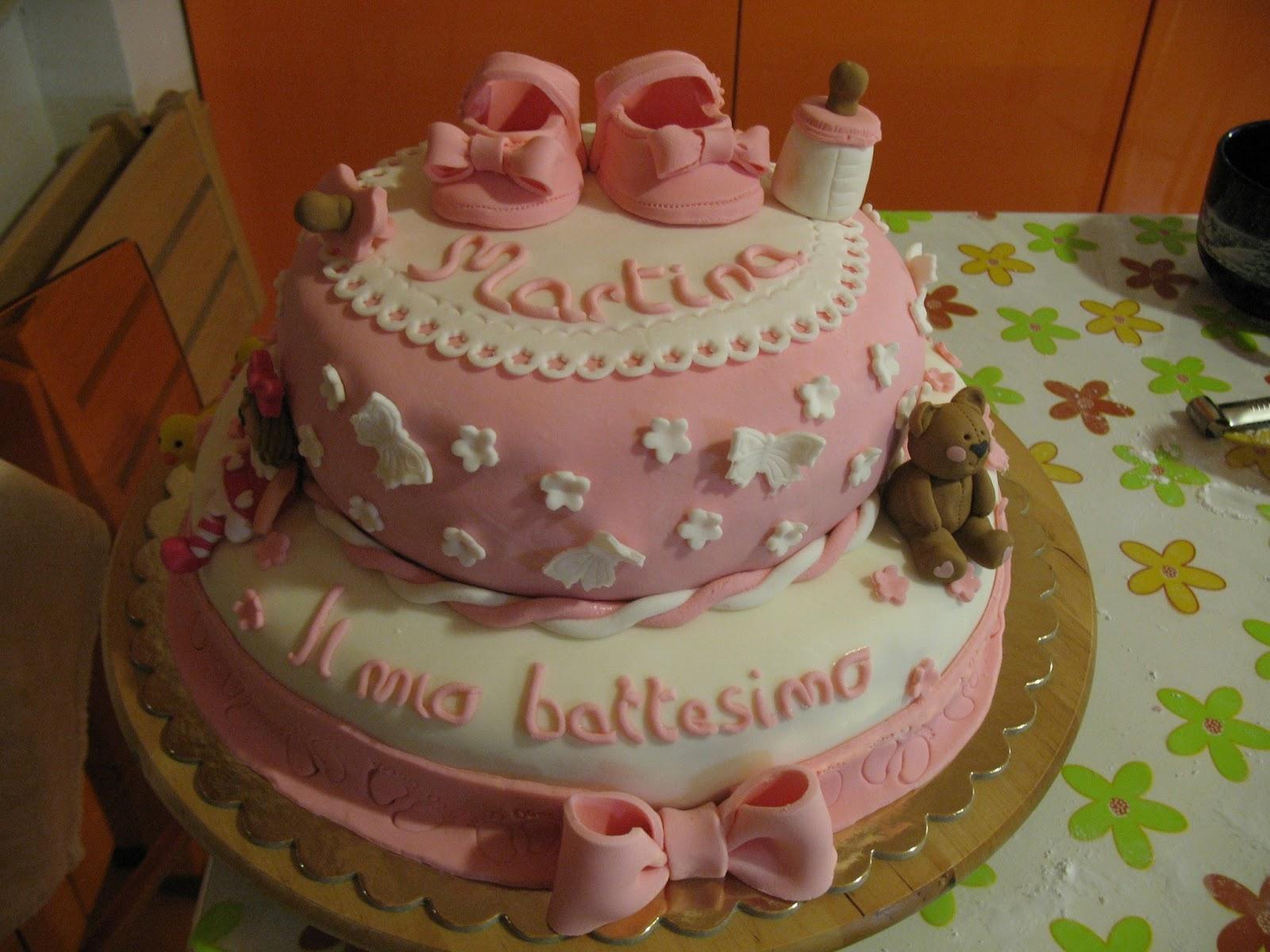 Conosciuto la pasticcioneria di Chiara: Torta di battesimo per una splendida  LP33