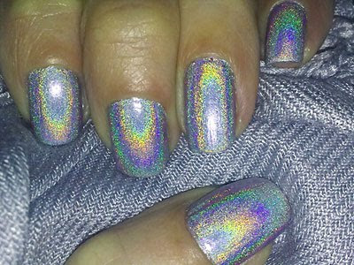 Gosh 549 Holographic With Flash