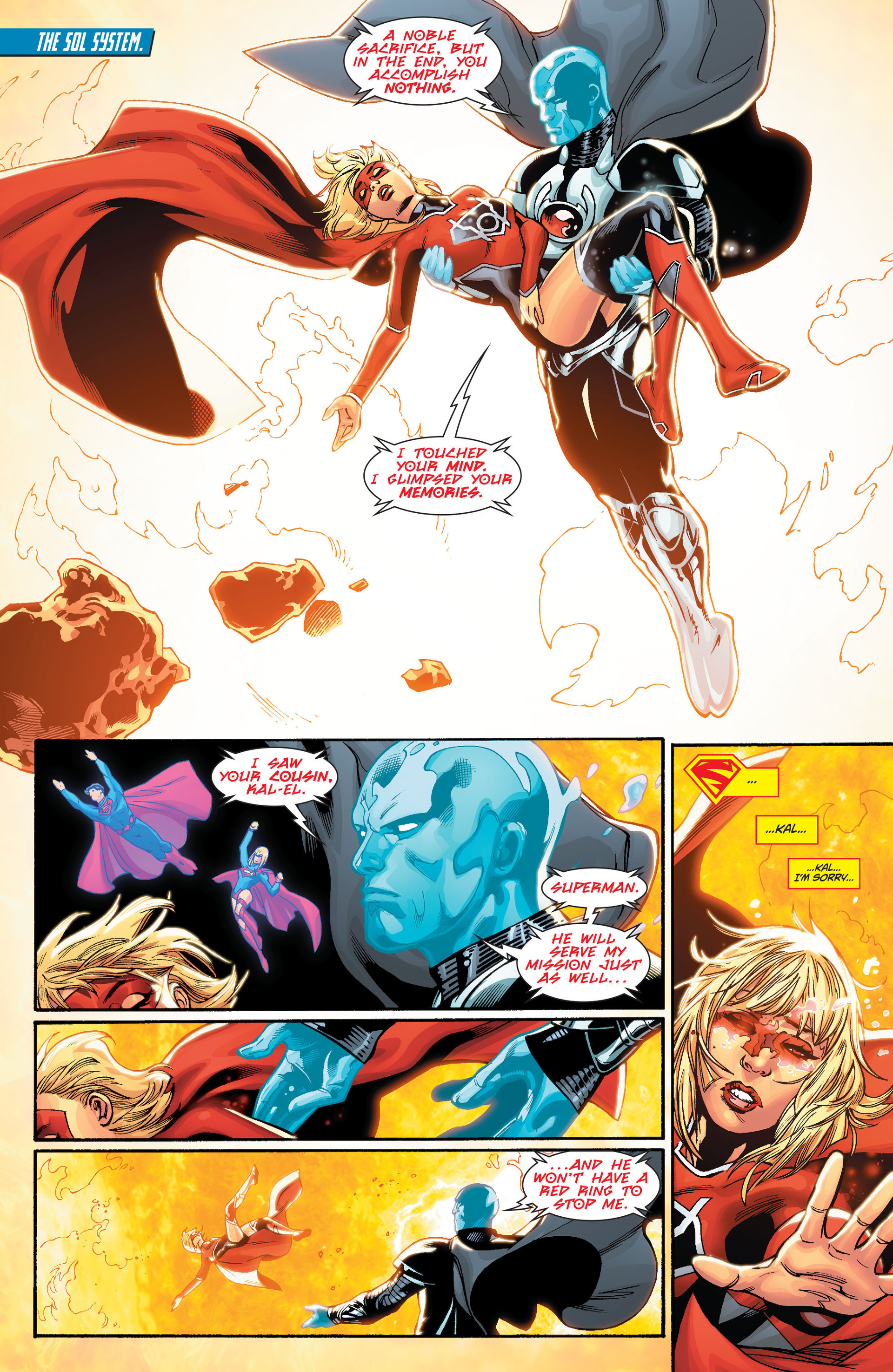 Supergirl (2011) Issue #33 #35 - English 17