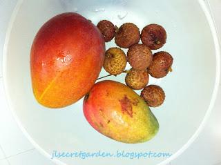有機芒果及荔枝 organic mango and lychee