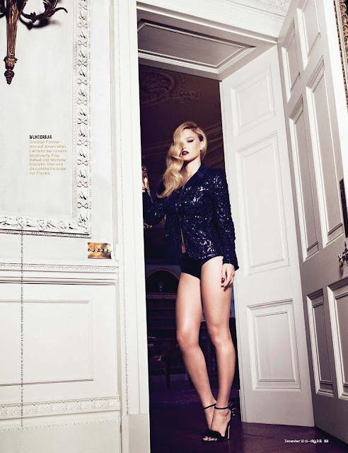 Models Inspiration: Bar Refaeli ♥ GQ Germany, Dec 2012