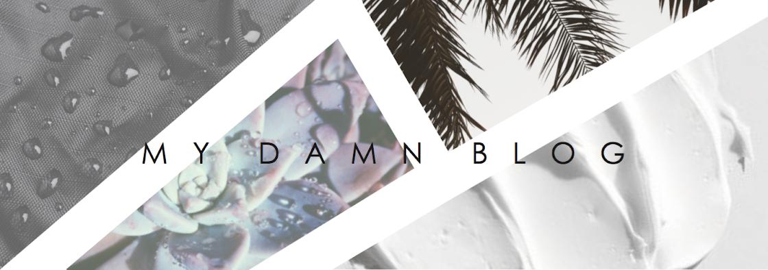 My Damn Blog