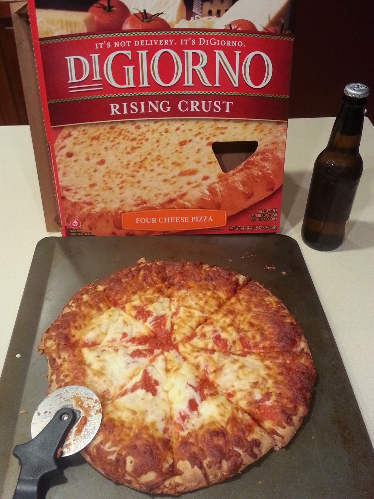 Enjoy some Digiorno Pizza at $4.50 a pie rollback prices at Walmart for the big game. #GameTimeGoodies