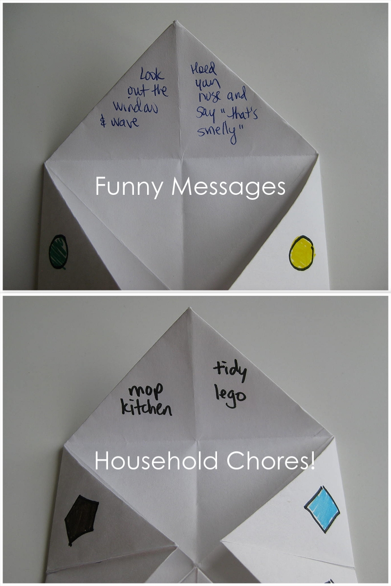 folded paper fortune teller How to make the fortune teller a fortune teller is an old folding game for children you don't only fold the figure you can also play with it you even use it to predict events in the future -) turn the paper over the folded middle lines of the square are seen.