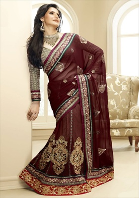 style of sarees