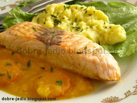 Losos v zeleninovej omáčke - recepty