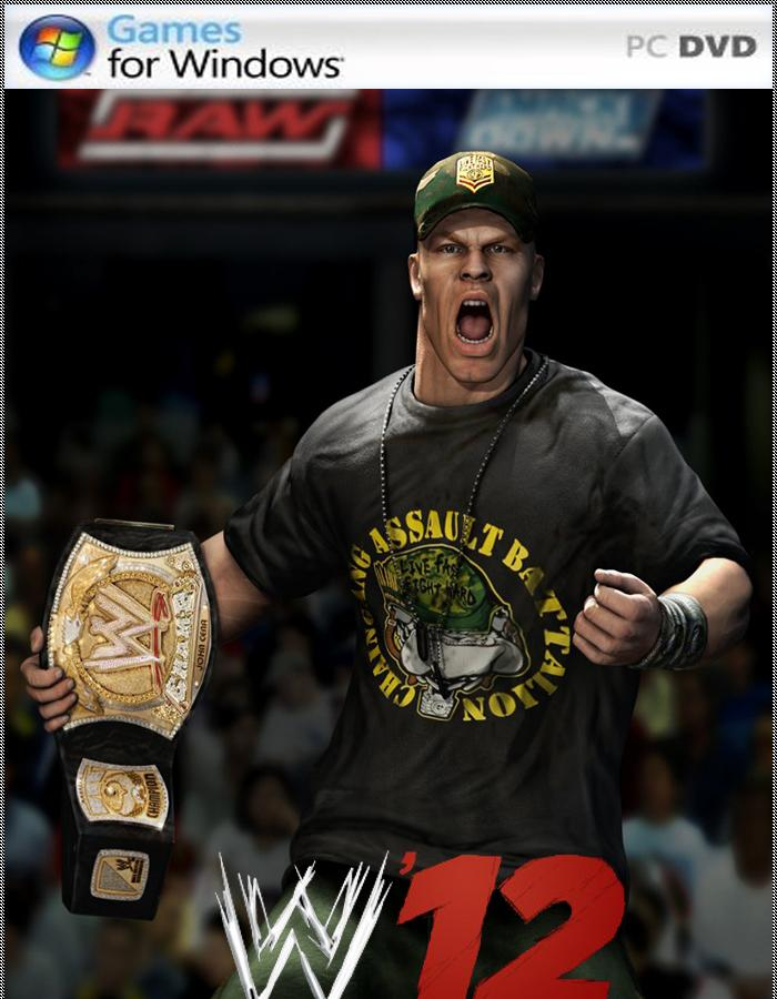 Постер к игре WWE Raw Ultimate Impact 2012 (Version 3) .