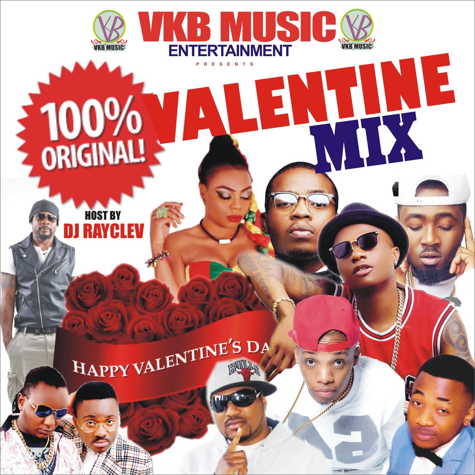 100% VALENTINE MIX