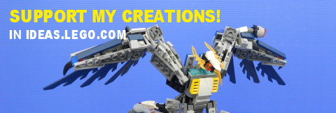 Support and Vote for my LEGO Creations!