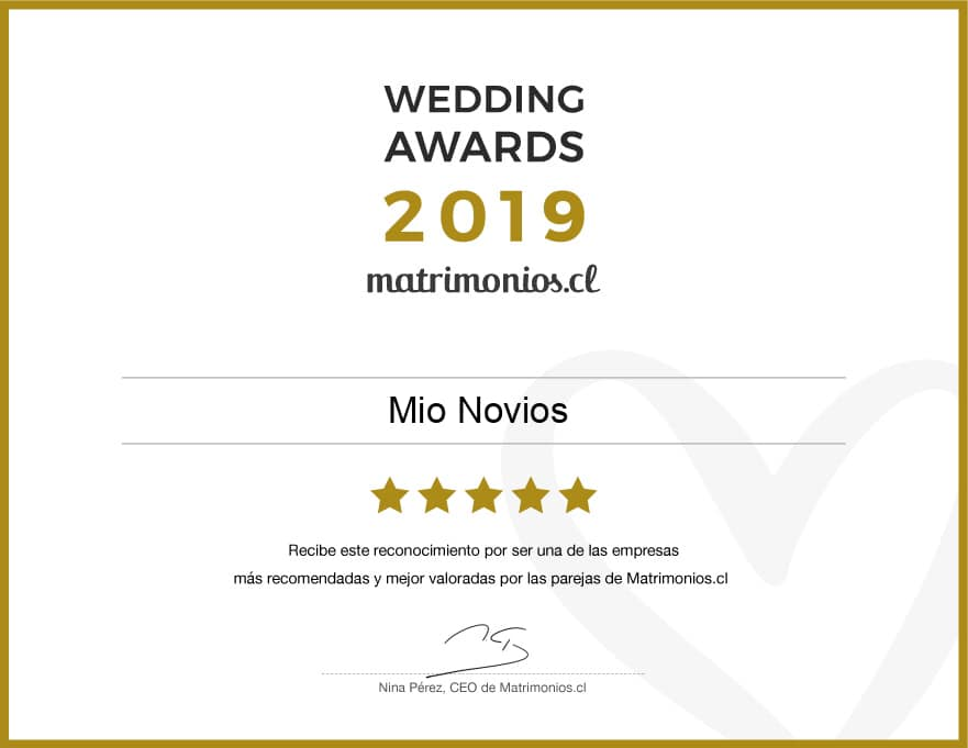 premio wedding awards 2019
