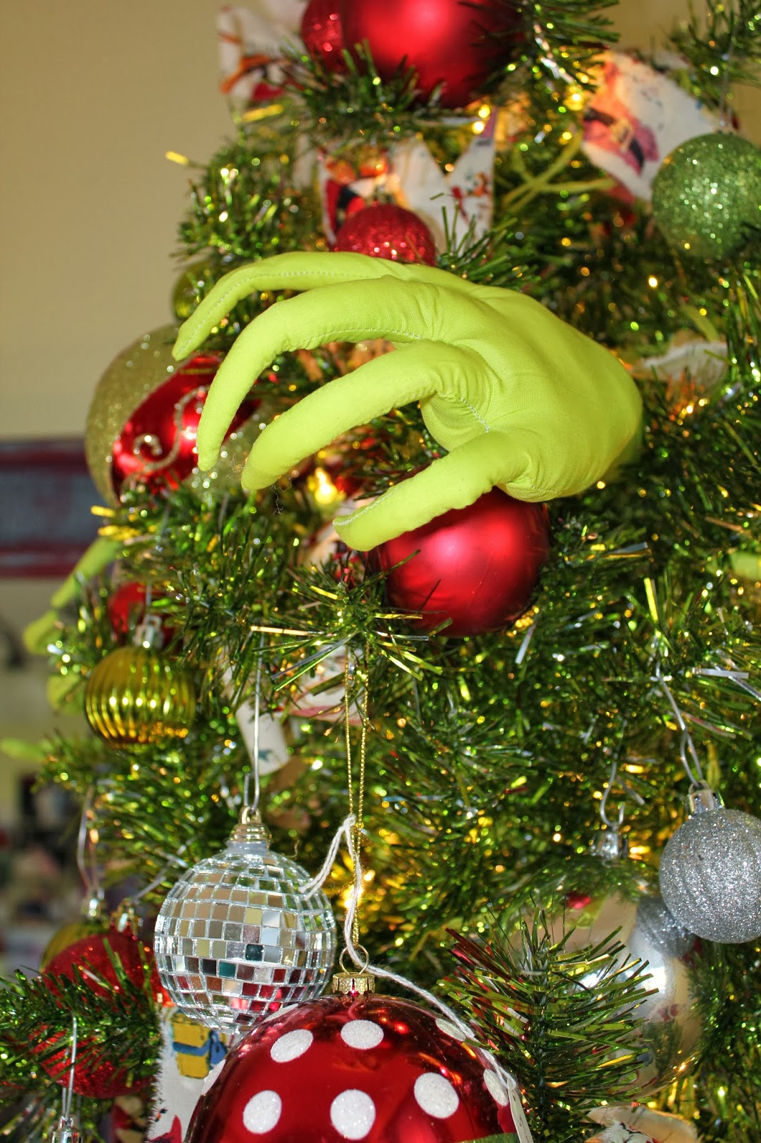 Cumberland Falls Arts My Grinch Tree If Finished And I