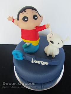 Shin Chan cake
