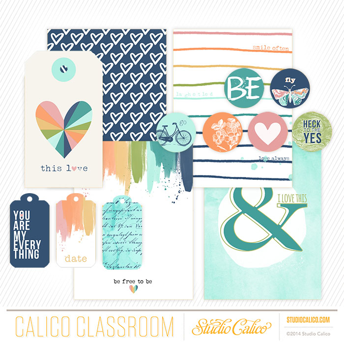 Classroom exclusive: printable journaling cards, accents and labels by Shanna Noel