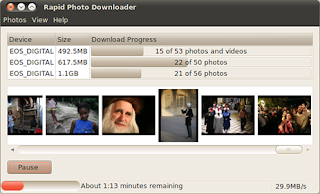 Actualizar rapid photo downloader en Ubuntu