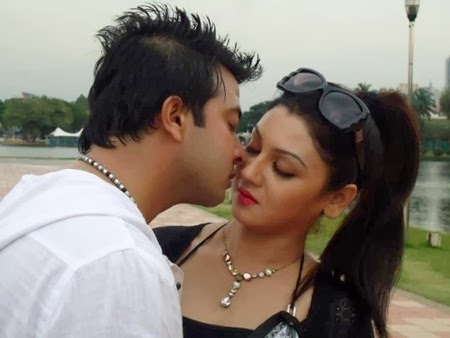 Shakib Khan Joya Ahsan in Bangla Movie