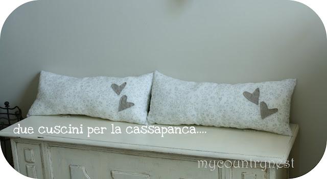 My country nest maggio 2011 for Cassapanca vimini