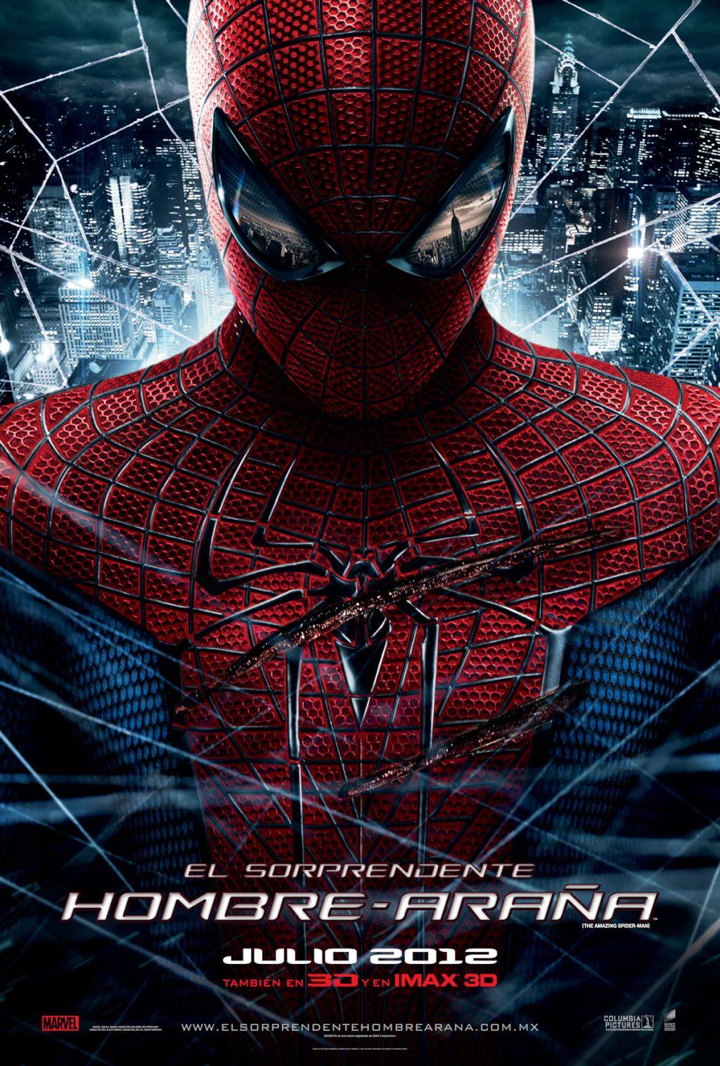 Ver El sorprendente Hombre araña 2012 online
