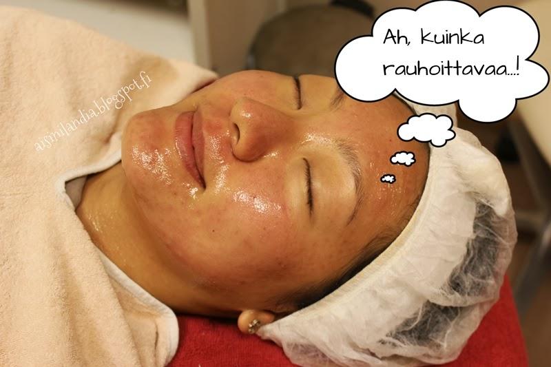 kemiallinen ihonpuhdistus