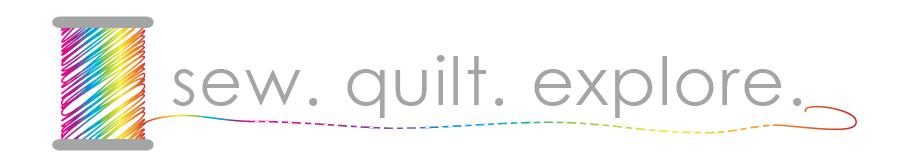 sew. quilt. explore. | modern quilting | tutorials