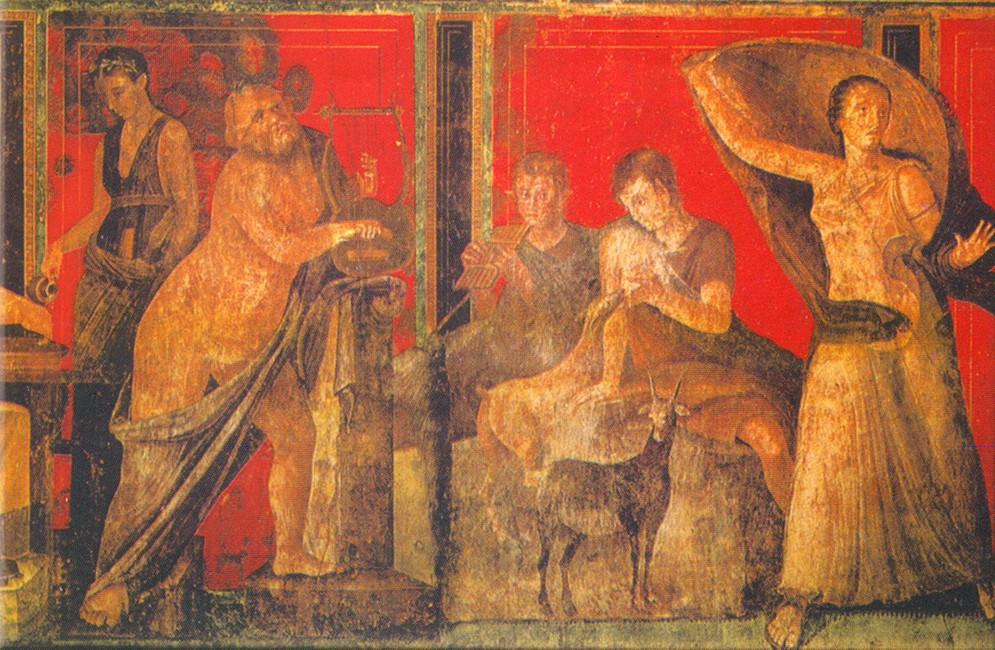Italia 2012 juan de dios wilhelmi la villa de los misterios for El mural de bonampak