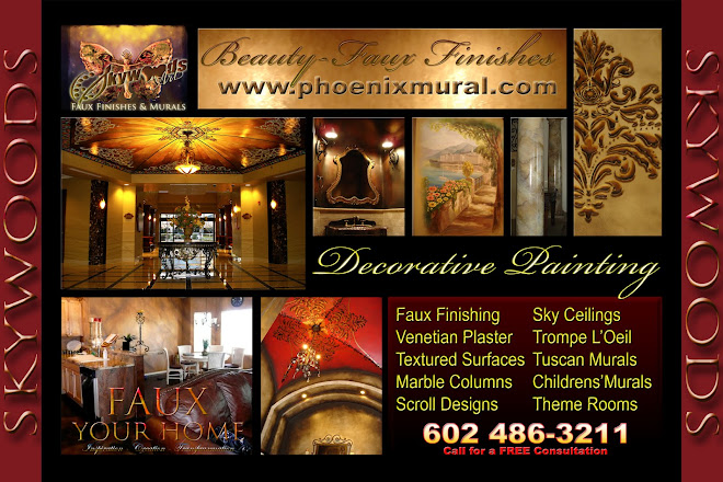 Decorative Painting - Faux Finishing and Murals in Arizona